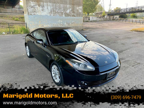 2008 Hyundai Tiburon for sale at Marigold Motors, LLC in Pekin IL