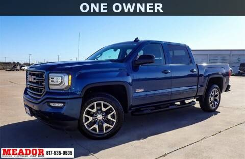 2017 GMC Sierra 1500 for sale at Meador Dodge Chrysler Jeep RAM in Fort Worth TX