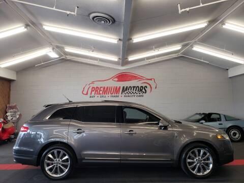 2010 Lincoln MKT for sale at Premium Motors in Villa Park IL