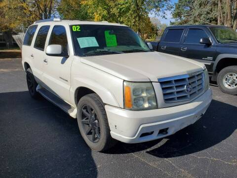2002 Cadillac Escalade for sale at Stach Auto in Janesville WI