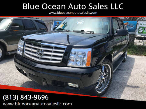 2002 Cadillac Escalade EXT for sale at Blue Ocean Auto Sales LLC in Tampa FL