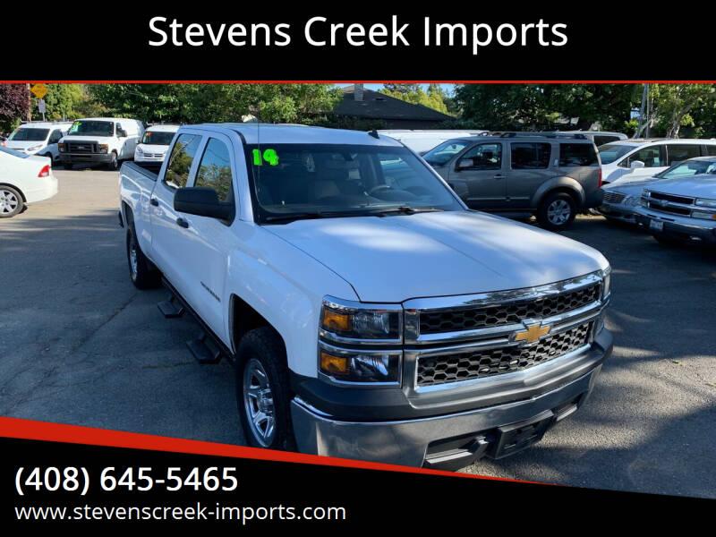 2014 Chevrolet Silverado 1500 for sale at Stevens Creek Imports in San Jose CA