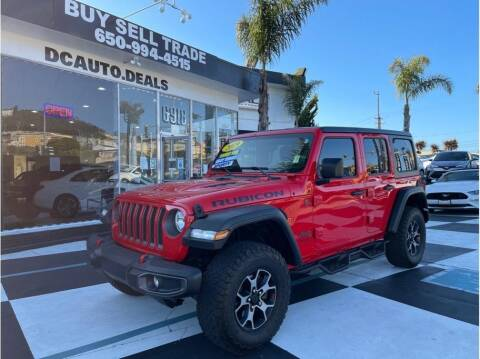 2019 Jeep Wrangler Unlimited for sale at AutoDeals in Daly City CA