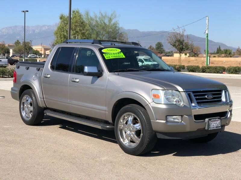 2008 Ford Explorer Sport Trac for sale at Esquivel Auto Depot in Rialto CA