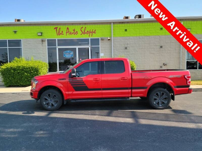 2018 Ford F-150 for sale at The Auto Shoppe in Springfield MO