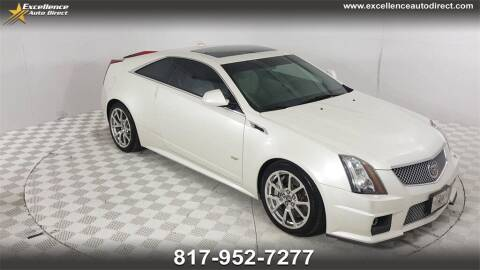 2011 Cadillac CTS-V for sale at Excellence Auto Direct in Euless TX
