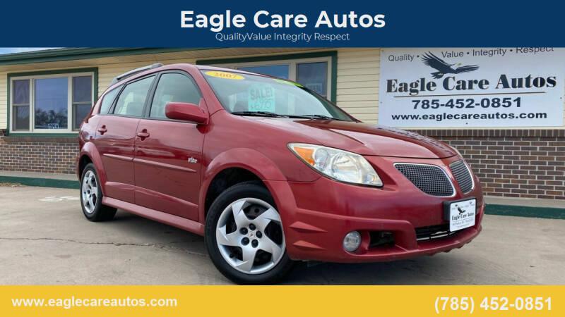 2007 Pontiac Vibe for sale at Eagle Care Autos in Mcpherson KS