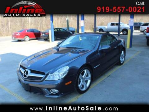2009 Mercedes-Benz SL-Class for sale at Inline Auto Sales in Fuquay Varina NC