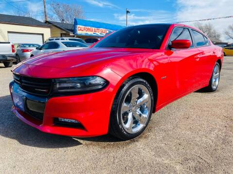 2015 Dodge Charger for sale at California Auto Sales in Amarillo TX