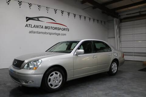 2001 Lexus LS 430 for sale at Atlanta Motorsports in Roswell GA