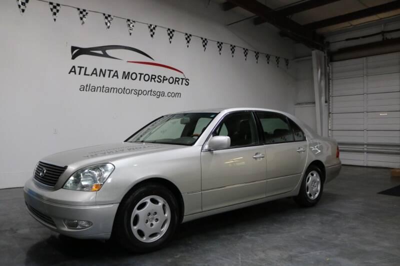 2001 Lexus LS 430 for sale at Atlanta Motorsports in Roswell GA