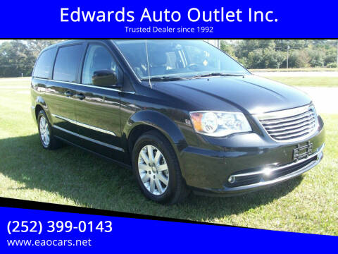 2016 Chrysler Town and Country for sale at Edwards Auto Outlet Inc. in Wilson NC
