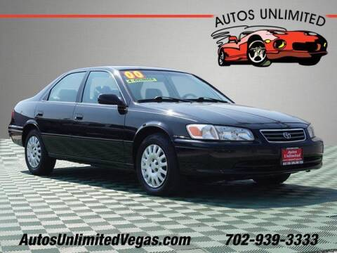 2000 Toyota Camry for sale at Autos Unlimited in Las Vegas NV
