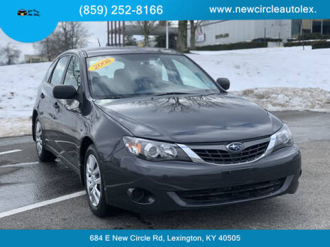 2008 Subaru Impreza for sale at New Circle Auto Sales LLC in Lexington KY