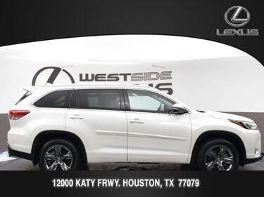 2018 Toyota Highlander for sale at LEXUS in Houston TX