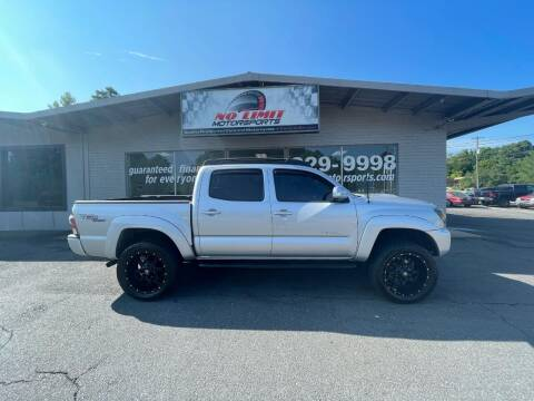 2013 Toyota Tacoma for sale at NO LIMIT MOTORSPORTS in Belmont NC