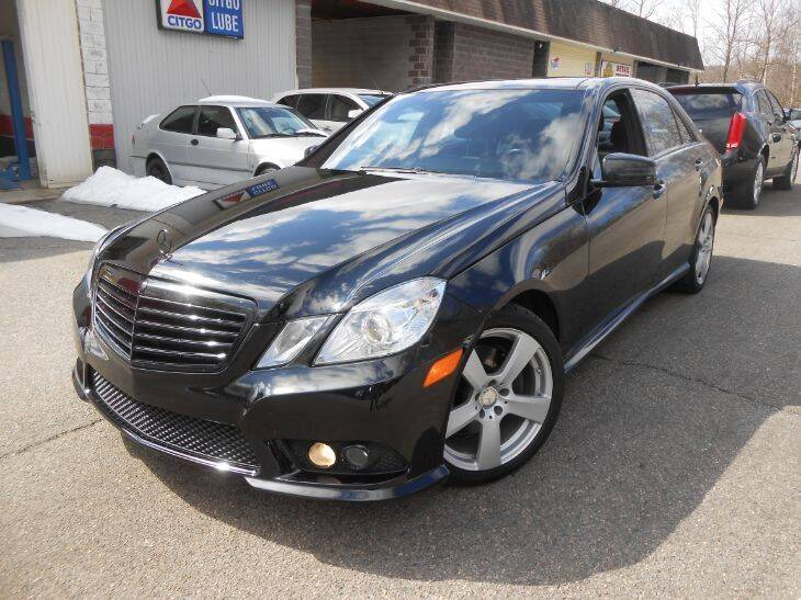 2010 Mercedes-Benz E-Class for sale at Skyline Motors in Ringwood NJ