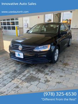 2015 Volkswagen Jetta for sale at Innovative Auto Sales in North Hampton NH