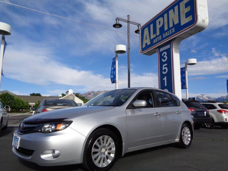 2011 Subaru Impreza for sale at Alpine Auto Sales in Salt Lake City UT