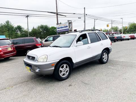 2004 Hyundai Santa Fe for sale at New Wave Auto of Vineland in Vineland NJ