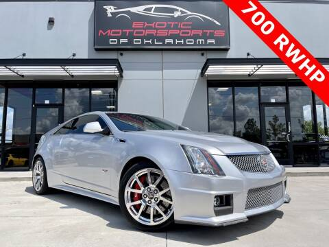 2013 Cadillac CTS-V for sale at Exotic Motorsports of Oklahoma in Edmond OK