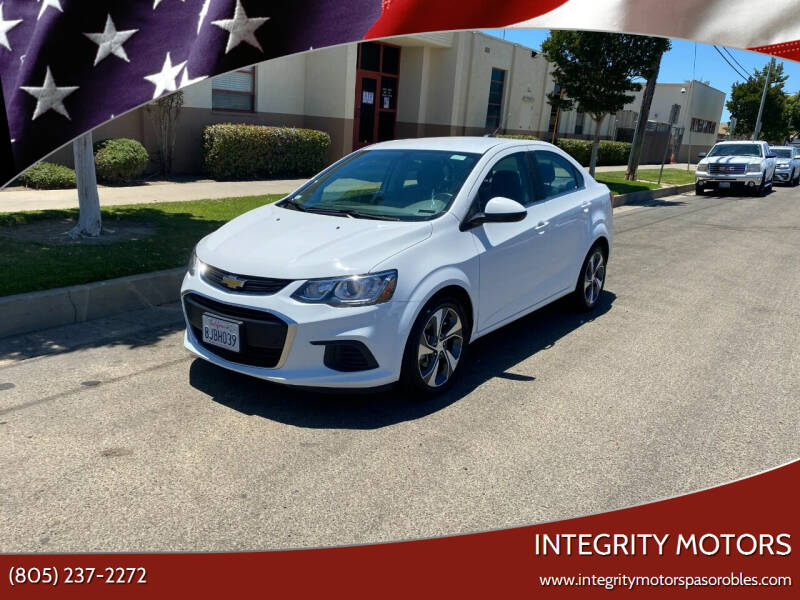 2019 Chevrolet Sonic for sale in Paso Robles, CA