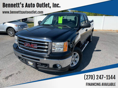 2012 GMC Sierra 1500 for sale at Bennett's Auto Outlet, Inc. in Mayfield KY