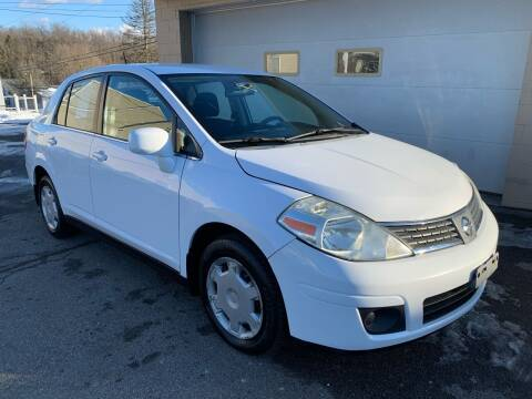2008 Nissan Versa for sale at G & G Auto Sales in Steubenville OH