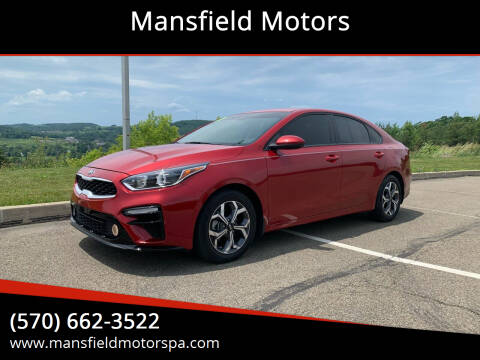 2019 Kia Forte for sale at Mansfield Motors in Mansfield PA