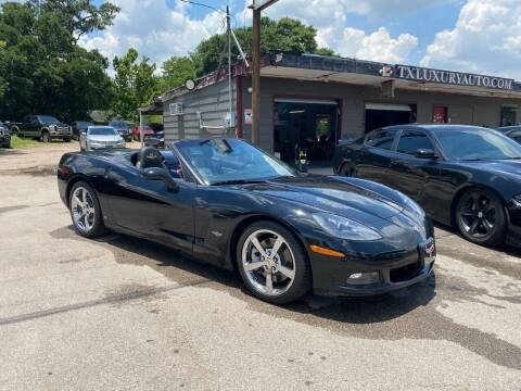 2008 Chevrolet Corvette for sale at Texas Luxury Auto in Houston TX