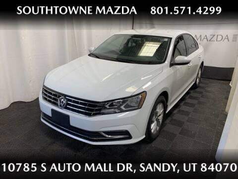2018 Volkswagen Passat for sale at Southtowne Mazda of Sandy in Sandy UT