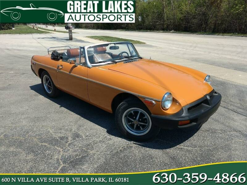 1975 MG B for sale at Great Lakes AutoSports in Villa Park IL