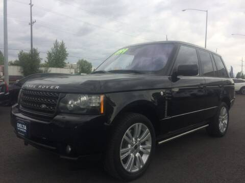2012 Land Rover Range Rover for sale at Delta Car Connection LLC in Anchorage AK