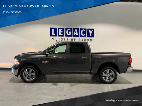 2018 RAM Ram Pickup 1500 for sale at LEGACY MOTORS OF AKRON in Akron OH