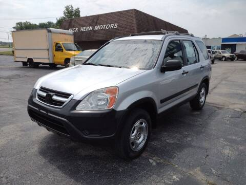 2003 Honda CR-V for sale at Hern Motors - 111 Hubbard Youngstown Rd Lot in Hubbard OH