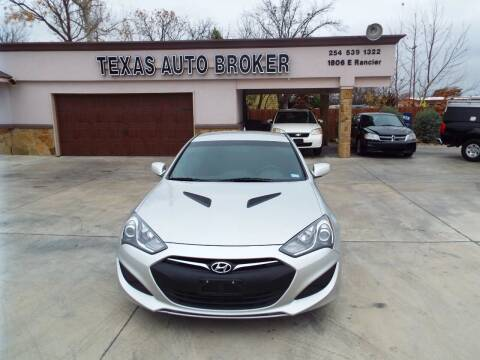 2013 Hyundai Genesis Coupe for sale at Texas Auto Broker in Killeen TX