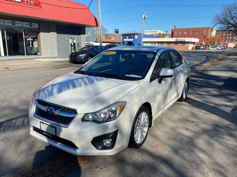 2013 Subaru Impreza for sale at Midtown Autoworld LLC in Herkimer NY