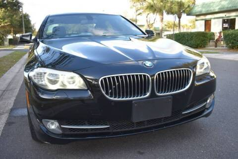 2012 BMW 5 Series for sale at Monaco Motor Group in Orlando FL