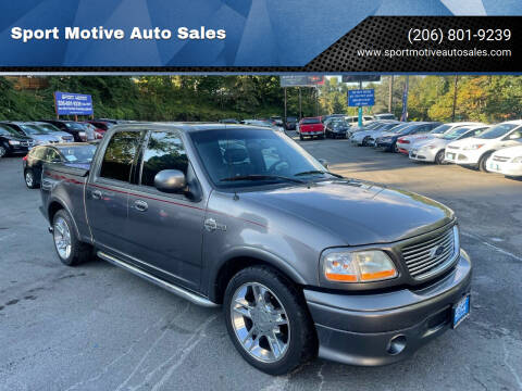 2002 Ford F-150 for sale at Sport Motive Auto Sales in Seattle WA