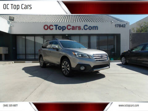 2017 Subaru Outback for sale at OC Top Cars in Irvine CA