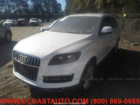 2011 Audi Q7 for sale at East Coast Auto Source Inc. in Bedford VA