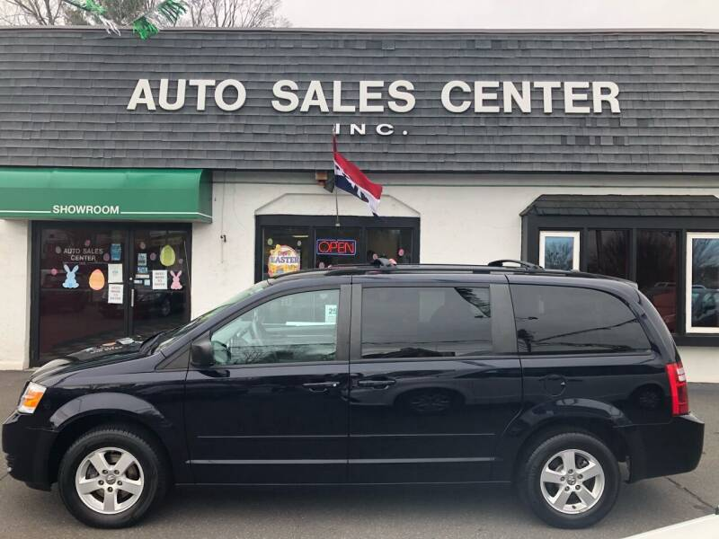 2010 Dodge Grand Caravan for sale at Auto Sales Center Inc in Holyoke MA