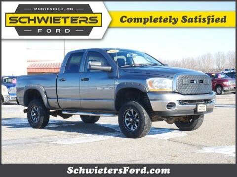 2006 Dodge Ram Pickup 2500 for sale at Schwieters Ford of Montevideo in Montevideo MN