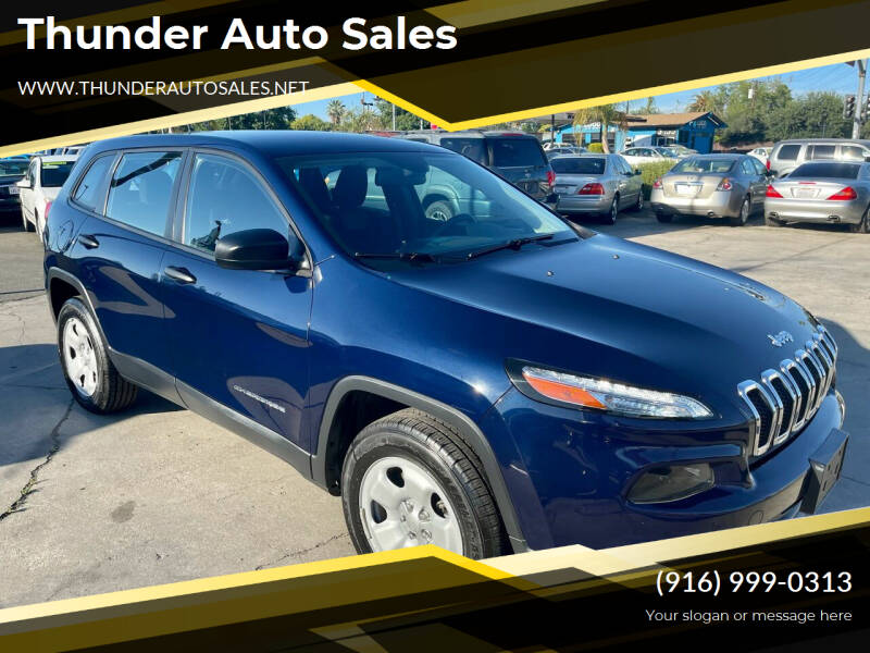 2014 Jeep Cherokee for sale at Thunder Auto Sales in Sacramento CA