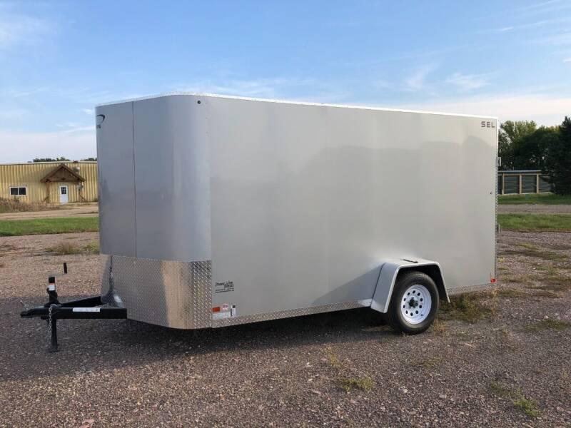 2022 Sharp SEL Enclosed 7x12x84 #0265 for sale at Prairie Wind Trailers, LLC in Harrisburg SD