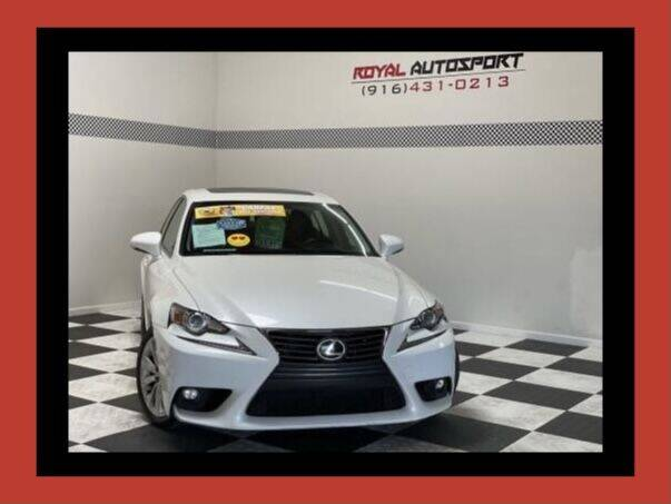 2015 Lexus IS 250 for sale at Royal AutoSport in Sacramento CA