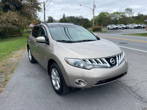 2009 Nissan Murano for sale at GET N GO USED AUTO & REPAIR LLC in Martinsburg WV