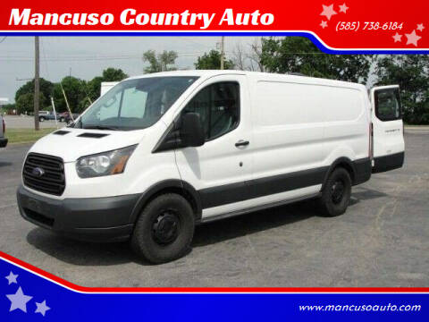 2017 Ford Transit Cargo for sale at Mancuso Country Auto in Batavia NY