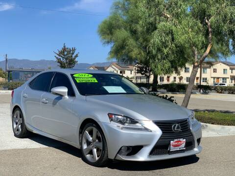 2014 Lexus IS 350 for sale at Esquivel Auto Depot in Rialto CA