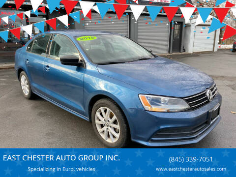 2015 Volkswagen Jetta for sale at EAST CHESTER AUTO GROUP INC. in Kingston NY